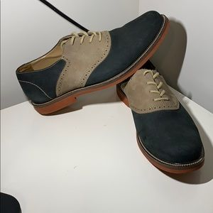 14th and Union Suede Saddle Shoes